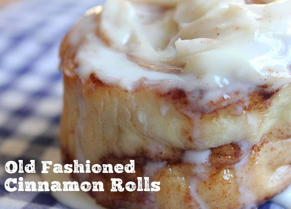 Old Fashioned Cinnamon Rolls